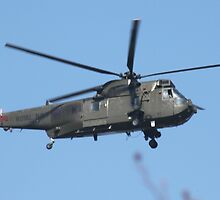Royal Navy Helicopter. by kenmay