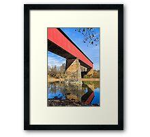 Indiana's Williams Covered Bridge Framed Print