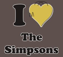 I Love the Simpsons Kids Clothes
