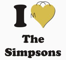 I Love the Simpsons by ColaBoy