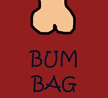 Bum Bag by ladieswhoscrum