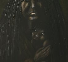 Mojave Mother and Child by Tom Norton