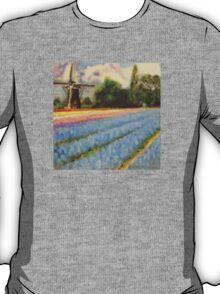 Tulip Time Fine Art Canvas Print 2 of 3 T-Shirt