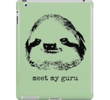 meet my guru iPad Case/Skin