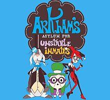 Bats Imaginary Friends, Frankie Quinn, Madam Riddler, and Herriguin by DoodleHeadDee