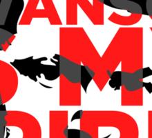 Ron Swanson Is My Spirit Animal Sticker