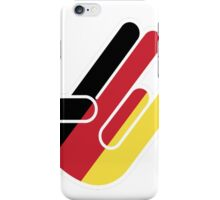 GERMAN SHOCKER iPhone Case/Skin