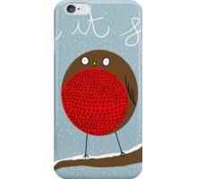 Let It Snow! iPhone Case/Skin