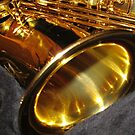 Swing that music! Alto Saxophone Bell by BlueMoonRose