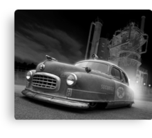 Gas Cops Canvas Print