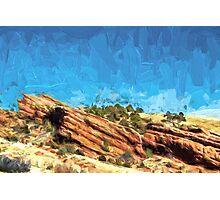 Among the Rocks Photographic Print