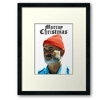 Murray Christmas - Bill Murray  Framed Print