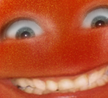 Smiling Tomato - Have a Nice Day! Sticker