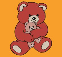 teddy bear hug  by IMPACTEES