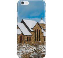 St Malo Church Chapel on a Rock iPhone Case/Skin
