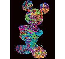 Mickey (Splatter) Photographic Print
