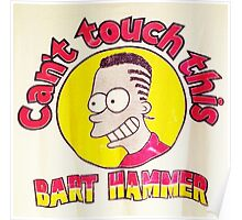 CAN'T TOUCH THIS--MC BARTHAMMER Poster