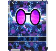 Vinyl Scratch - Music is Life iPad Case/Skin