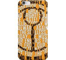 Tau Sigil iPhone Case/Skin