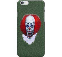 NOT clowning around-wall art iPhone Case/Skin