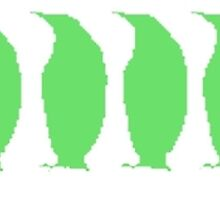 Green Penguins by kwg2200