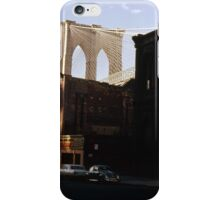 Brooklyn Bridge 1970 iPhone Case/Skin