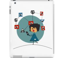 Internet security iPad Case/Skin