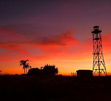Roadhouse sunset by georgiavee