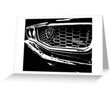 """Three"" – Mazda RX3 Rotary T-Shirt Greeting Card"