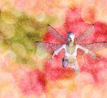 Fairy on Bokeh background 2 by AnnArtshock