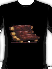 Glitch furniture armchair baby back bbq ribs armchair T-Shirt