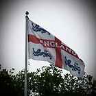 England Flag. St George's. by Robert Gipson