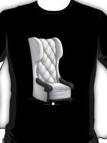 Glitch furniture armchair white highback armchair T-Shirt