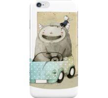 Monster In A Car iPhone Case/Skin