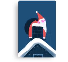 CHRISTMAS CARD NO.3 - CHIMNEY Canvas Print