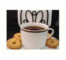 Cup of Tea-Still Life  ^ Art Print