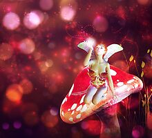 Magic mushroom fairy 2 by AnnArtshock