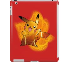 Pikachu (with background) iPad Case/Skin