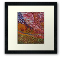 036 Abstract Thought Framed Print