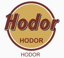 Hard Rock Hodor (Game of Thrones) by Leocats