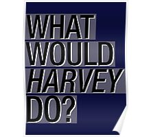 What Would Harvey Do? Poster