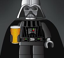 Darth Vader and his Beer by LucyOlver