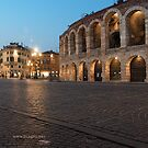 L'Arena, Verona, Italy by L Lee McIntyre