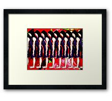 JOIN THE Q Framed Print