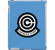 The Capsule Corporation logo iPad Case/Skin