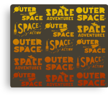 Wilde & Sweet - Space! Canvas Print