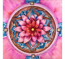 Mandala Of Health Photographic Print