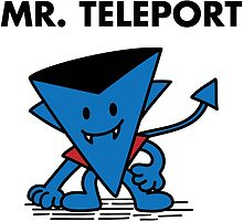 Mr. Teleport by irkedorc