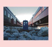Train Track TARDIS Kids Clothes
