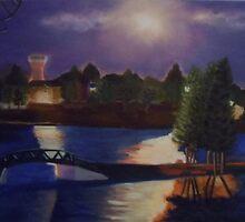 Cochrane at Dusk by Lynn Ahern Mitchell